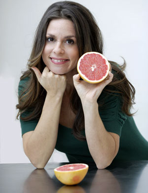 Jenn with Pink Grapefruit