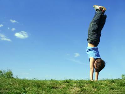 Handstand Happy