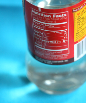 liquid high-fructose corn syrup