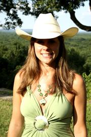 Jen in White Straw Hat