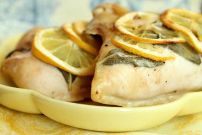 Joy Bauer's Lemon-Sage Chicken Breast
