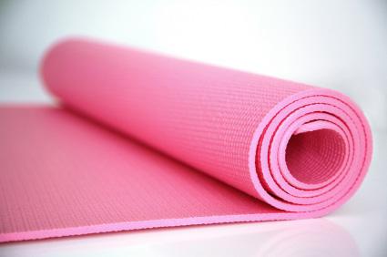 clean yoga mat