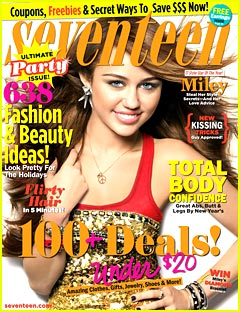 Skinny Chef Jen Iserloh in Seventeen Magazine