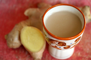 Chai with ginger