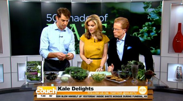 On The Couch - National Kale Day