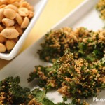 Superfood Squared: Crispy Peanut Kale Chips Recipe