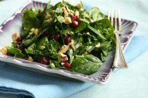 Peanut Pomegranate Salad