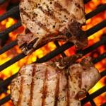 chicken, pork chop, or sirloin