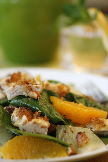 Citrus Almond Chicken