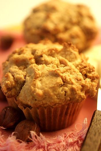 Pear Hazelnut Muffin