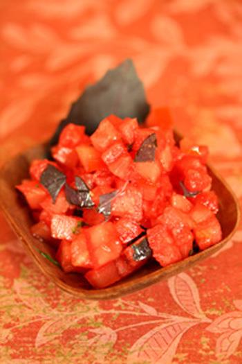 Tomato Watermelon Salsa