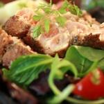 Salmon Salad Nicoise
