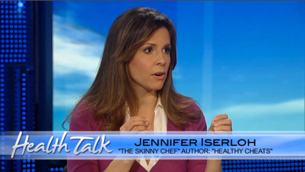 Skinny Chef Jennifer Iserloh on Fox News Health Talk