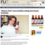 Jersey Journal Covers Skinny Chef Brand
