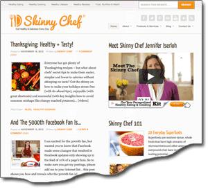 New SkinnyChef.com Site