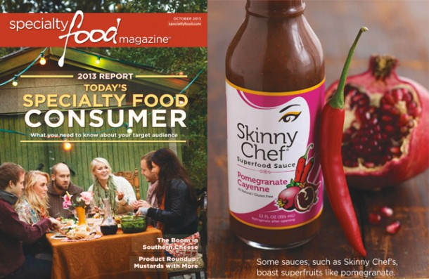 Specialty Food Magazine Features Superfood Sauces