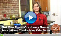 Not Your Usual Cranberry Sauce