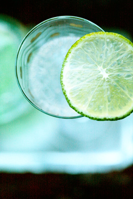water-with-lime
