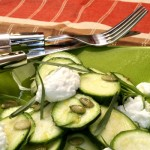 Zucchini Salad with Lemon and Ricotta